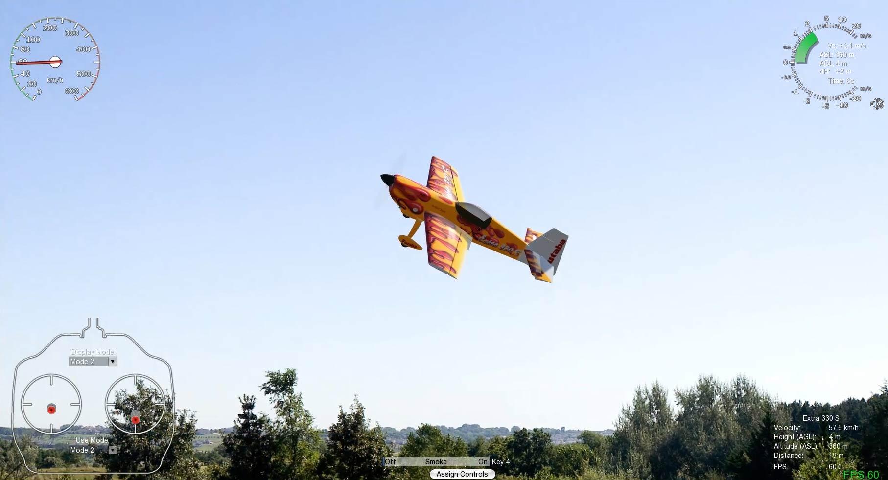 Simulador de vuelo Aerofly RC