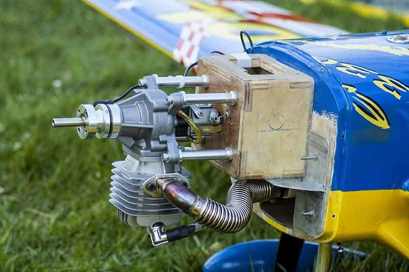 motor combustion interna gasolina aeromodelo