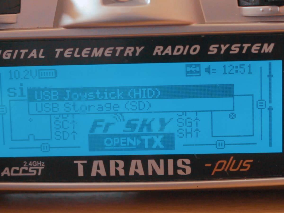Taranis joystick