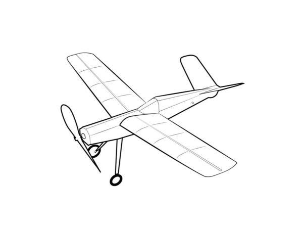 widgeon free flight airplane