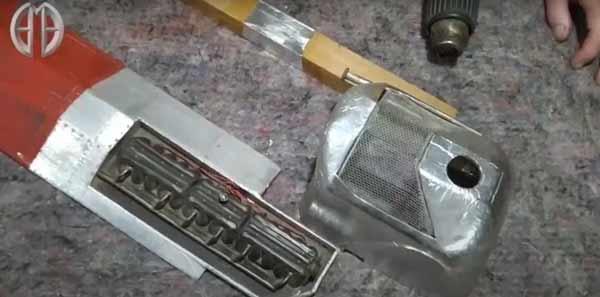 entelado aluminio