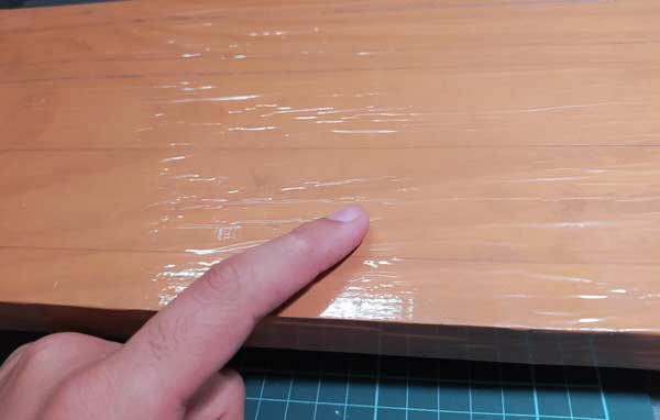 superficie cortador de espuma